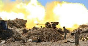 Lực lượng Kataeb Hezbollah sử dụng pháo binh ở Syria
