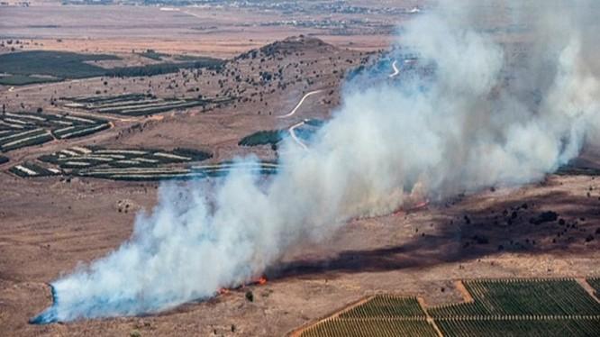 Khu vực chiếc Su-24 bị bắn rơi, 4 km cách biên giới Thổ Nhĩ Kỳ