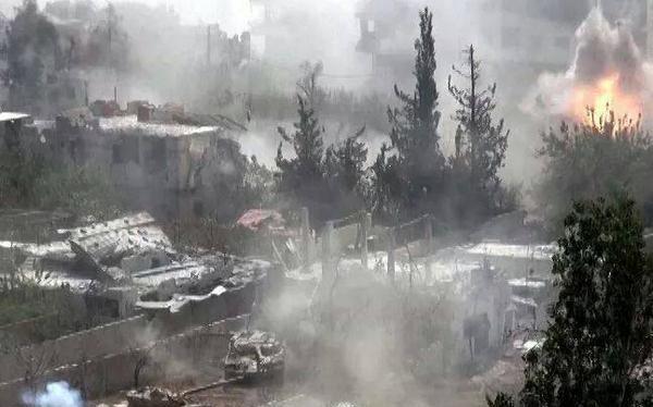 Cận cảnh quân đội Syria chiến đấu ở miền Bắc Latakia