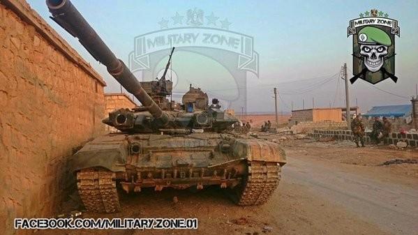 Cuộc chiến Syria tăng nhiệt với xe tăng T-90 ở Aleppo