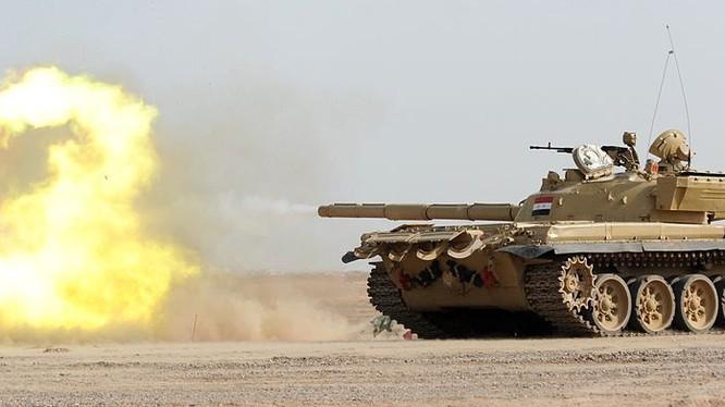 Trận chiến tăng thiết giáp diệt 300 phiến quân khủng bố ở Syria