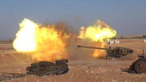Syria rực lửa cuộc chiến phong tỏa biên giới Thổ Nhĩ Kỳ
