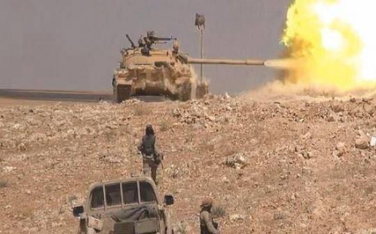 Hải quân đánh bộ Nga tham chiến ở Palmyra, xác phiến quân la liệt