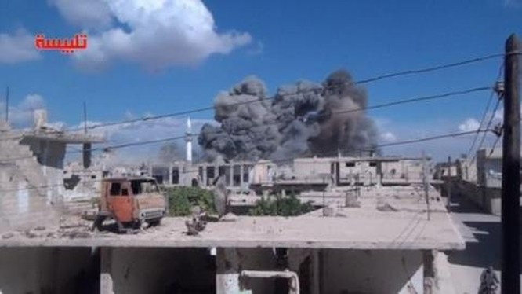Kinh hoàng bom xuyên Nga tiêu diệt mục tiêu IS
