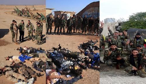 Quân đôi Syria nỗ lực tìm diệt khủng bố trên mọi chiến trường