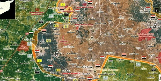Quân đội Syria nỗ lực đóng biên giới với Thổ Nhĩ Kỳ, diệt khủng bố ở Nam Aleppo