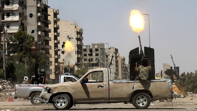 Chiến sự Syria - Những video đáng xem trong tuần
