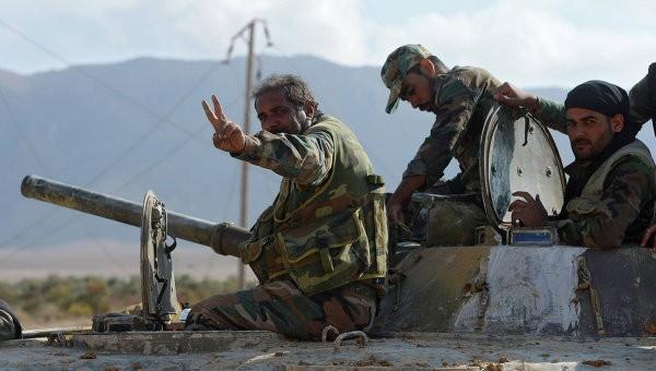 Quân đội Syria đánh chiếm sân bay quân sự gần Damascus