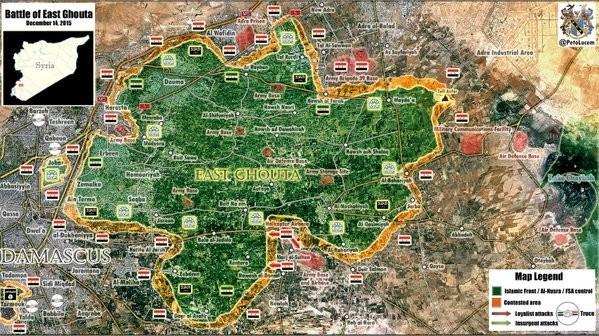 Khu vực Damascus, sân bay trực thăng ở Rural