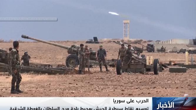 Quân đội Syria diệt hơn 30 chiến binh, đánh chiếm Khan Touman Nam Aleppo