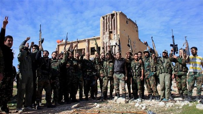 Video: Cận cảnh quân đội Syria giành lại Al Qarrasi