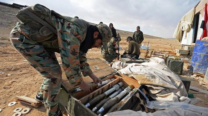Quân đội Syria lần thứ 3 đánh chiếm thị trấn Maheen tỉnh Homs