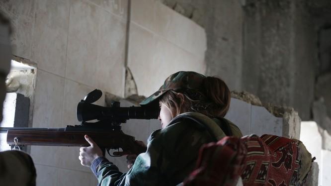 Cuộc chiến bắn tỉa và chống bắn tỉa ở Syria