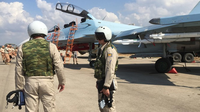 Không quân Nga dồn dập không kích diệt khủng bố