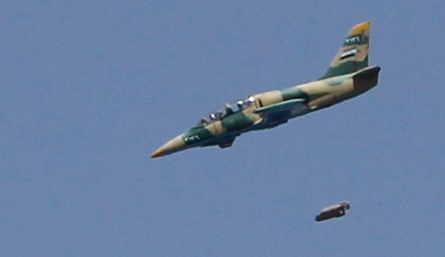 Không quân Syria không kích dữ dội diệt khủng bố
