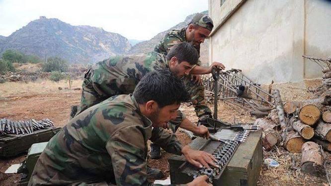 Lực lượng Tigers Syria đánh chiếm hai làng ngoại vi sân bay Kweires