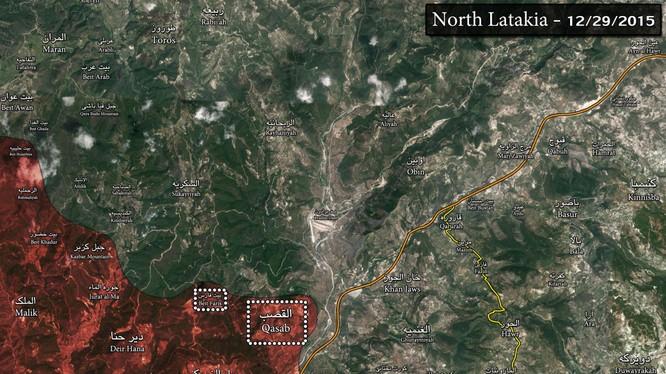 Lữ đoàn 103 diệt hàng chục tay súng Al Nusra ở Latakia