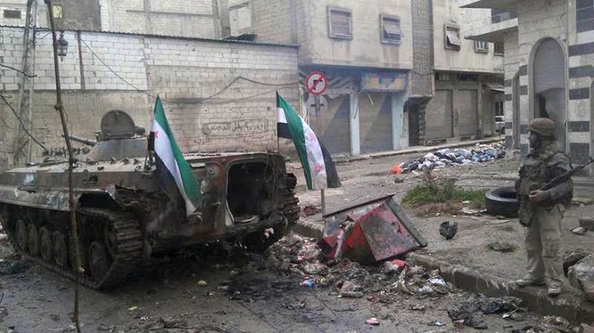 Cuộc chiến tàn khốc Syria bắt đầu một năm mới