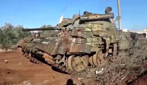 Chùm video ngày cuối năm trên chiến trường Syria