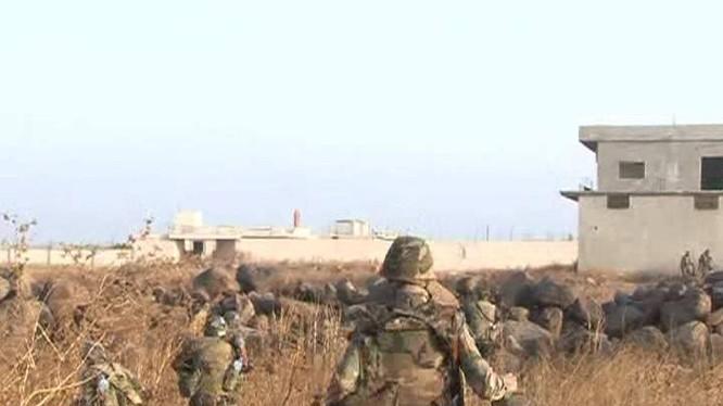 Quân đội Syria chiếm 3 làng ở Hama mừng năm mới