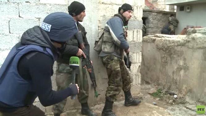 Quân đội Syria đánh chiếm 70% thành phố chiến lược Sheikh Meskin