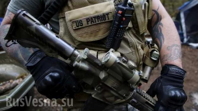 Mỹ: Người dân vũ trang chiếm trụ sở của chính quyền liên bang