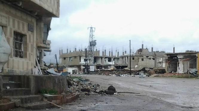 Quân đội Syria tấn công thành phố Nawa tỉnh Dara'a