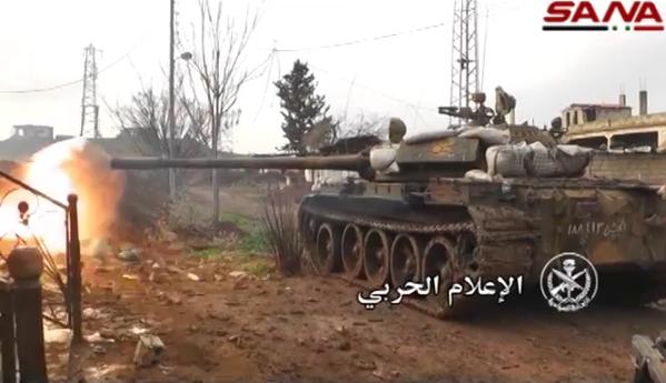 Al-Nusra, FSA bất ngờ phản kích tại thành phố Sheikh Miskeen