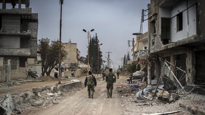 Quân đội Syria đã sẵn sàng đóng cửa khẩu biên giới Jordan