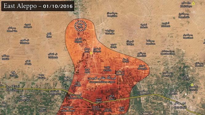Tiger Forces thực hành đánh đêm ở Đông Aleppo