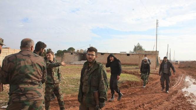 Lực lượng Tigers chiếm 4 làng liên tiếp, chuẩn bị đánh vào Al-Bab