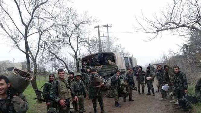 Chảo lửa Sheikh Miskeen, quân đội Syria giành được 40 khu nhà
