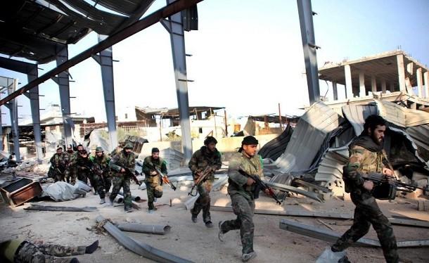 Quân đội Syria tấn công miền Nam Aleppo, diệt nhiều phần tử khủng bố