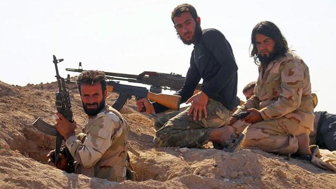 IS tấn công dữ dội mỏ dầu Al-Sha'ar