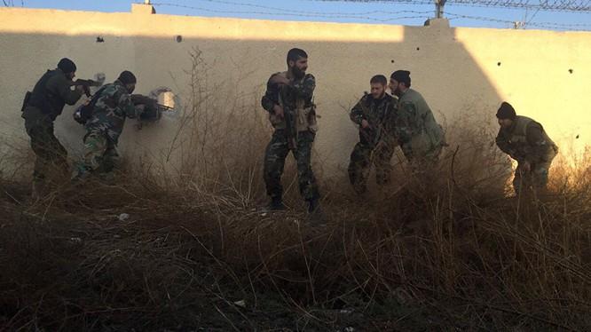 Video: Lữ đoàn 103 giành thêm hai làng, ngăn chặn phản kích ở Salma