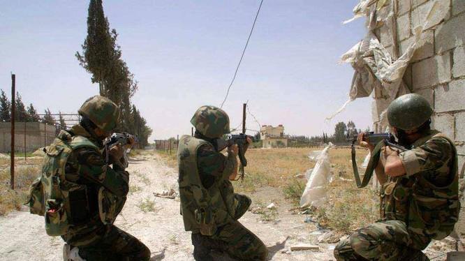 Quân đội Syria bắt đầu tấn công thị trấn Aqrab tỉnh Homs