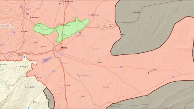 Quân đội Syria trên hai chiến tuyến với hai kẻ thù ở tỉnh Homs