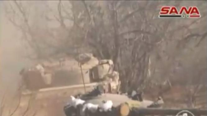 Không quân Nga dội bom giải phóng Sheikh Miskeen