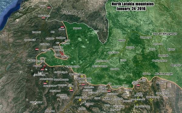 Chùm ảnh đầu tiên thị trấn mới giải phóng Rabia, Latakia