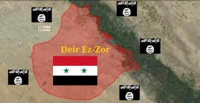 IS tiếp tục tấn công ở Deir Ezzor, nhiều tay súng thiệt mạng