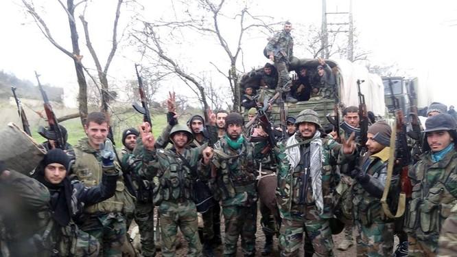 Quân đội Syria đánh tan tác phiến quân Hồi giáo ở Dara'a