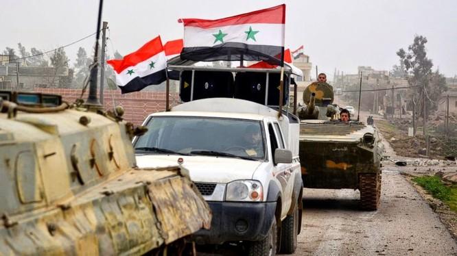 Video: Lực lượng Tigers tấn công Nhà máy nhiệt điện Aleppo