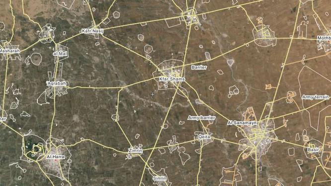 Quân đội Syria đánh chiếm thị trấn Kafr Shamis Dara'a