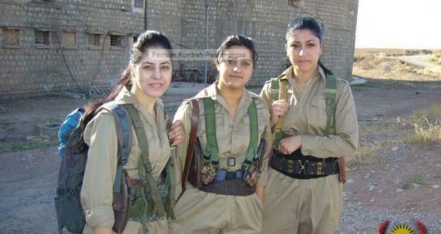Video: Những nữ binh Kitô giáo quyết tử với IS tại Syria