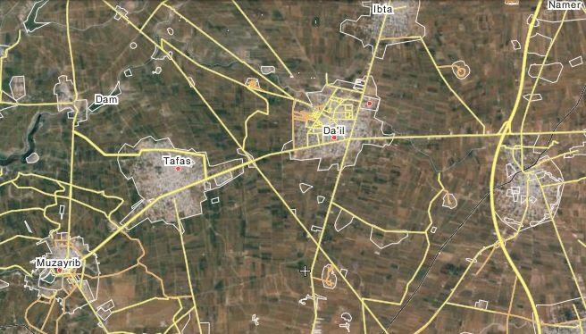 Sư đoàn thiết giáp số 5 mở rộng tấn công ở tỉnh Dara'a