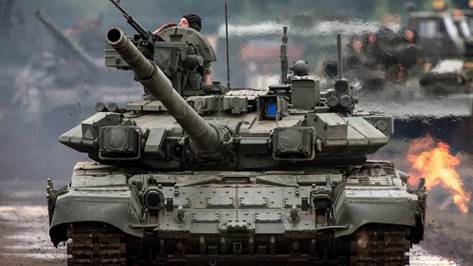 Tăng T-90 Nga tham chiến ở Aleppo, Syria