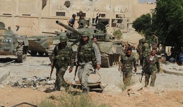 Quân đội Syria tấn công thị trấn Itman thuộc tỉnh Daraa