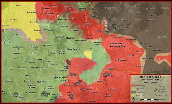 """Sư đoàn cơ giới 4 Syria cắt đường tiếp viện """"bỏ đói"""" Aleppo"""
