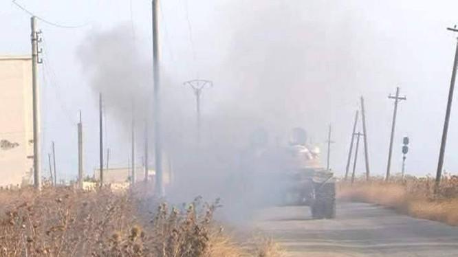 Quân đội Syria giành lại ngôi làng Al-Khalidiyah trên quốc lộ M-5