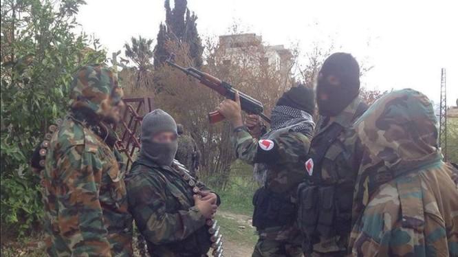 Lực lượng đảng Xã hội Dân chủ Syria trên chiến trường Homs
